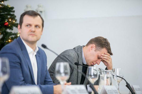 """Komunikacijos ekspertas: socdemai šiandien pasakė """"ne"""" koalicijai su konservatoriais"""